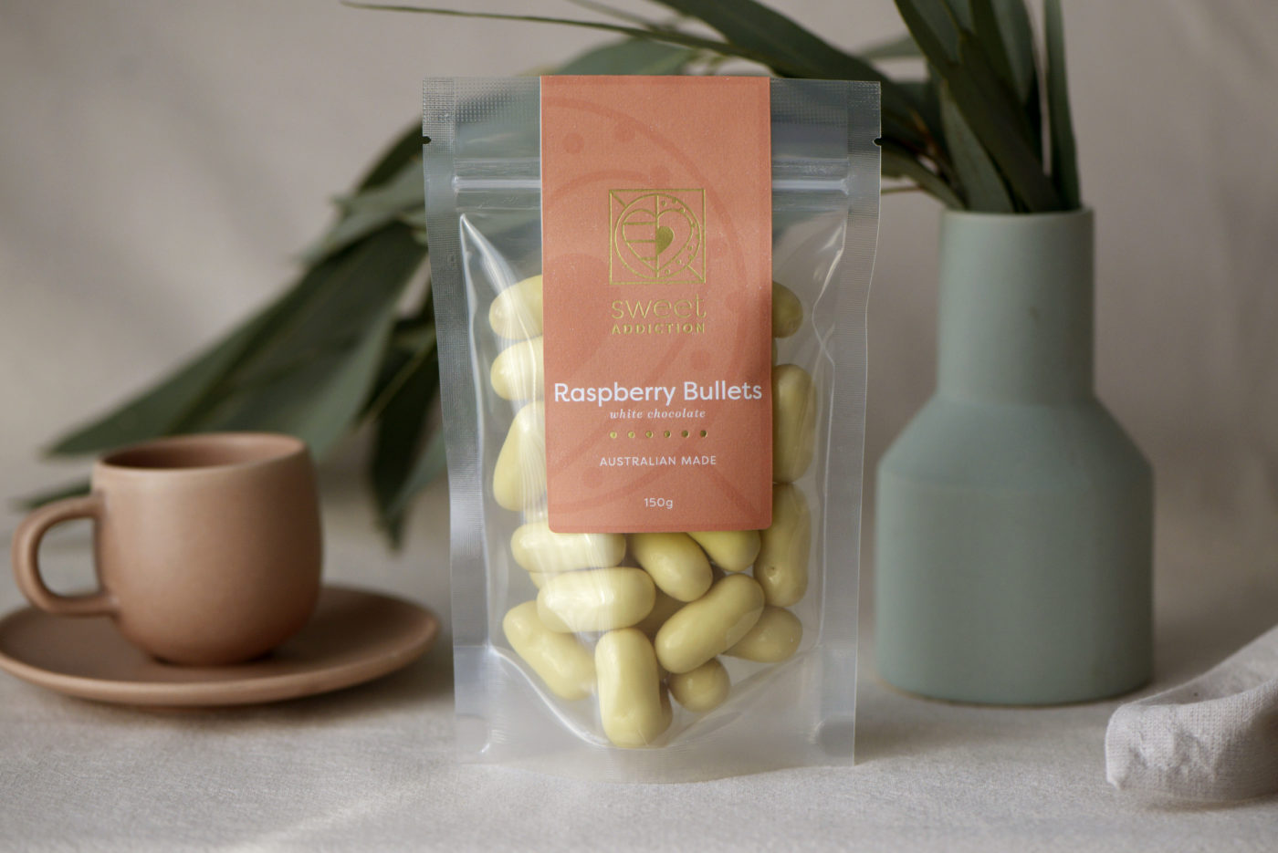 Sweet Addiction Clear Packaging with Read Label and Printing Food Labels